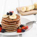 Vegane und glutenfreie Pancakes